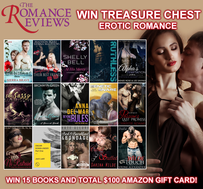 Promotional Blitz // Win $125 Worth of Prizes and Books at The Romance Reviews