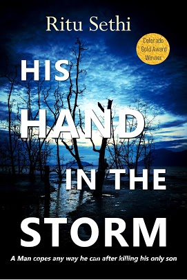 His Hand in the Storm Book Cover