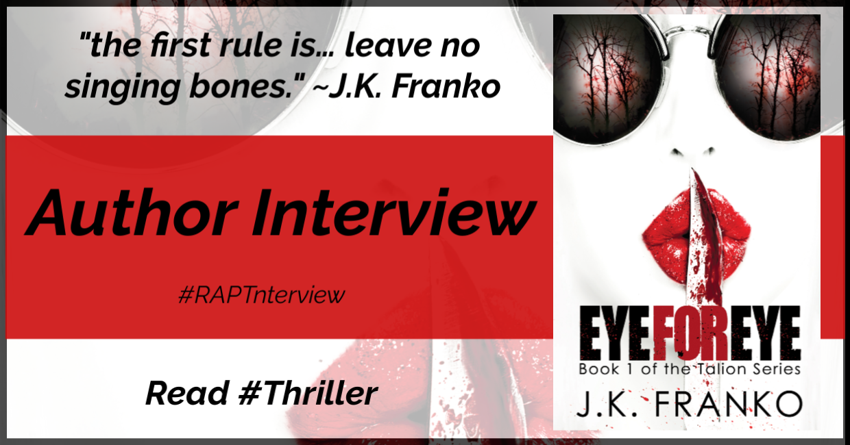 Interview // Author J.K. Franko