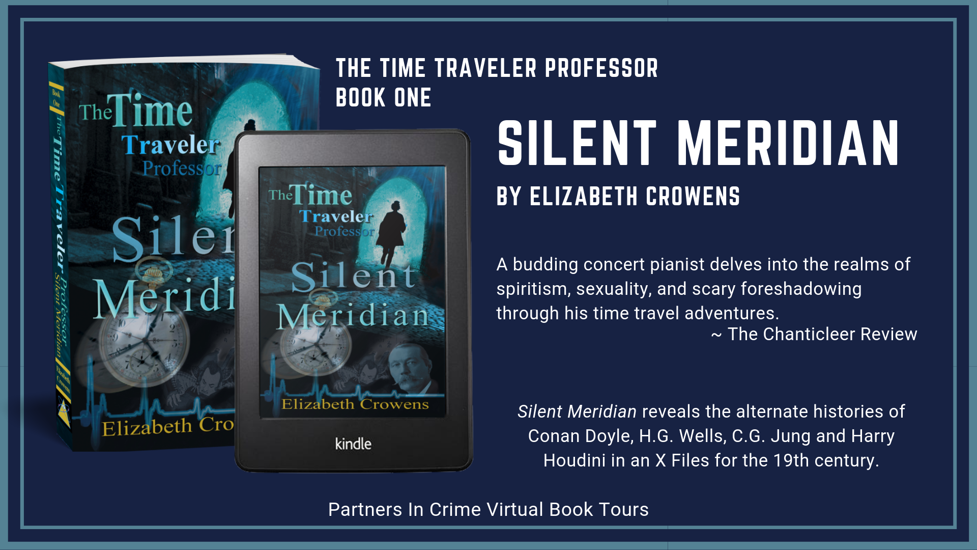 Guest Post // Silent Meridian by Elizabeth Crowens