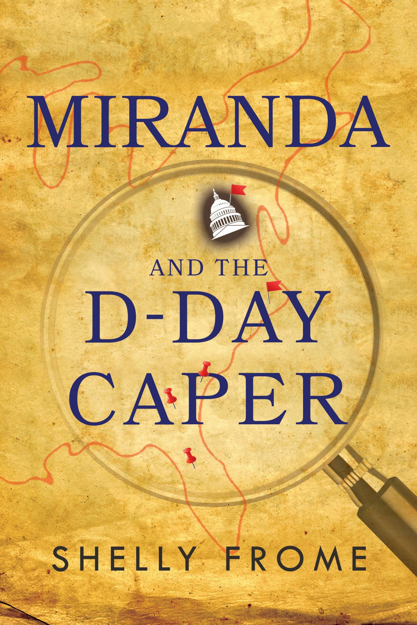 Miranda and the D-Day Caper Book Cover